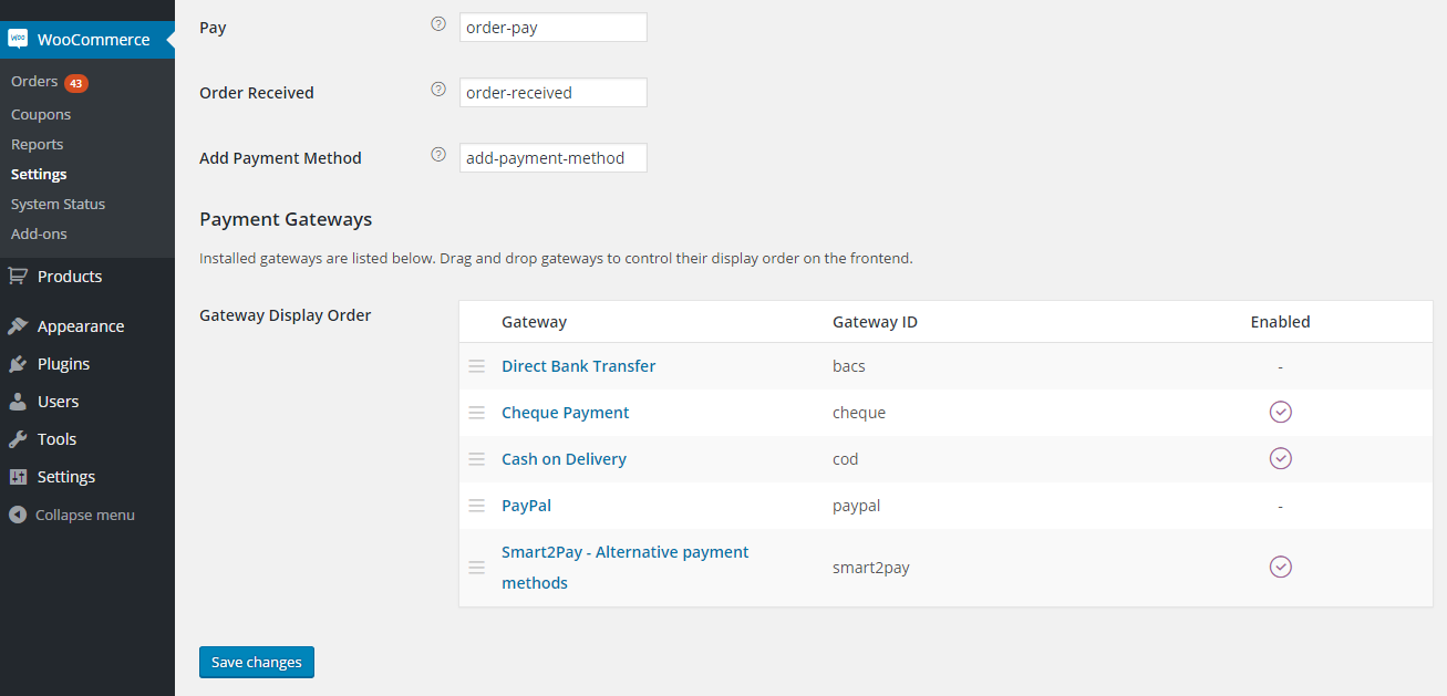 1 Smart2Pay Payment Plugin Installation
