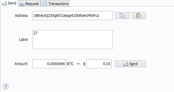 1 Bitcoin application login