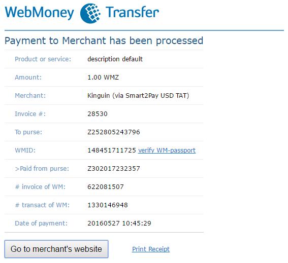 1 Transaction details