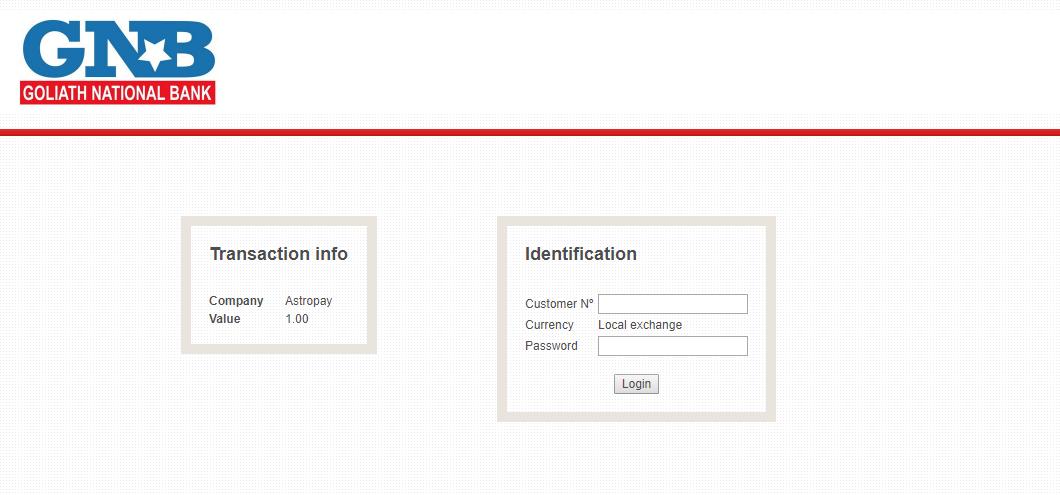 1 Enter account details