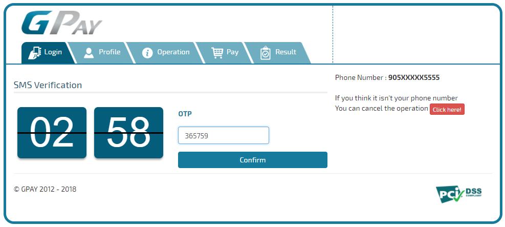 1 SMS Verification