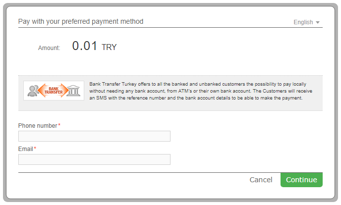 1 Enter customer details