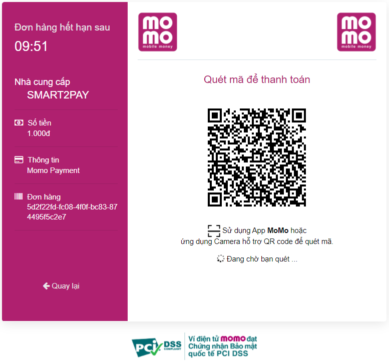 1 QR Code page