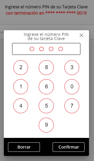 1 PIN Number