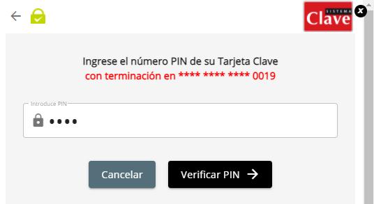 1 Verify PIN