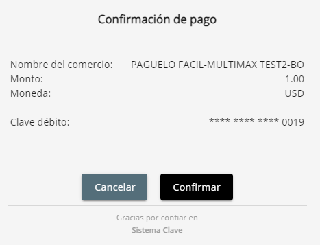 1 confirmation page