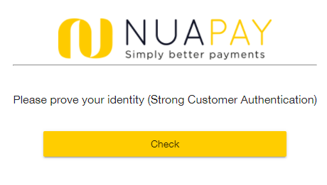 1 Strong Customer Authentication